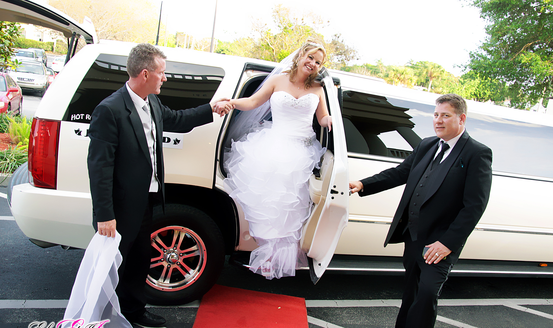 Car services for wedding